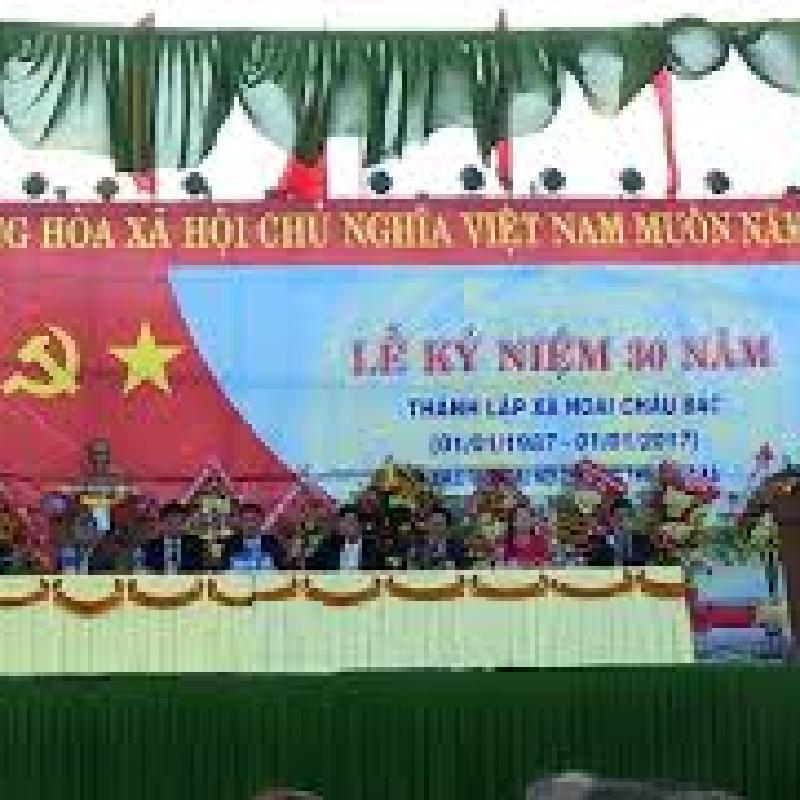 Bài phát biểu Lễ kỷ niệm 30 năm ngày thành lập xã